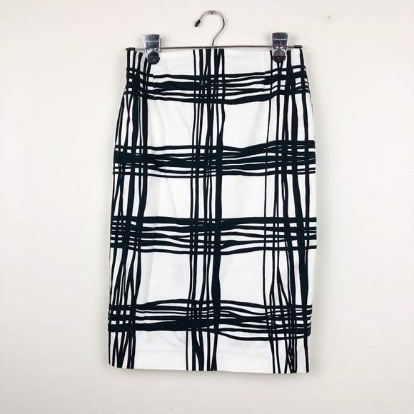 Express Dresses & Skirts - Express Black and White Pencil Skirt
